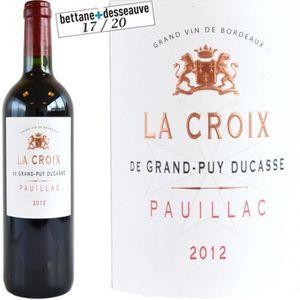 VIN ROUGE La Croix de Grand Puy Ducasse 2011 Pauillac - Vin