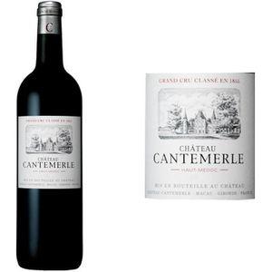 VIN ROUGE Château Cantemerle Cru Classé Grand Vin de Bordeau