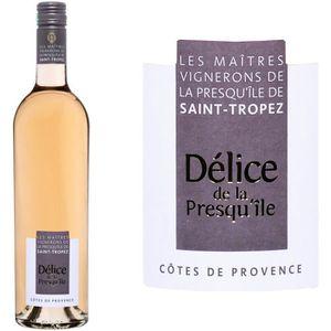 VIN ROSÉ Délice de la Presqu'île Côtes de Provence 2015 ...