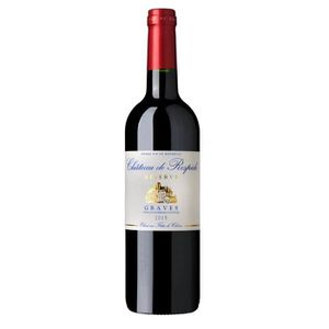 VIN ROUGE Château Respide Graves 2015 Vin Rouge de Bordeaux