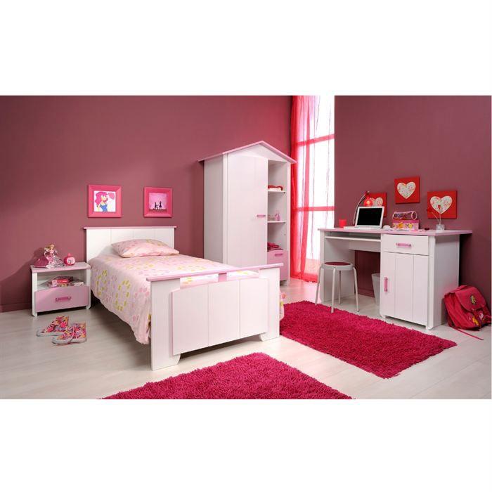 ELEGANCE Chambre complète enfant avec bureau - Achat / Vente chambre ...