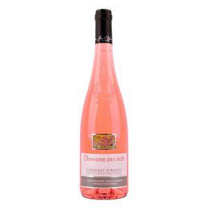 VIN ROSÉ Domaine des Iris 2018 Cabernet d'Anjou - Vin Rosé