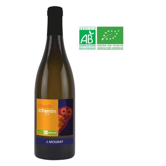 VIN BLANC J. Mourat Chouette 2018 Chenin - Vin blanc du Val
