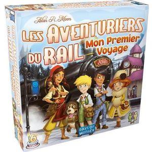 JEU SOCIÉTÉ - PLATEAU ASMODEE - Aventuriers du rail - Mon Premier Voyage