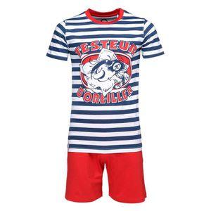 PYJAMA GASTON LAGAFFE Ensemble Pyjama T-shirt + Short Bla