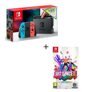 CONSOLE NINTENDO SWITCH Pack Jeu Switch Just Dance 2019 + Console Switch N