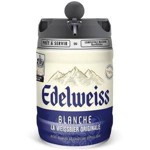 BIÈRE EDELWEISS Fût de bière blanche Originale aromatisé
