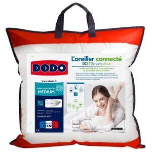 OREILLER DODO Oreiller Connecté SmartPillow - 100% coton -