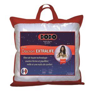 oreiller dacron extralife Oreiller Dacron DODO 65 x 65 cm   Achat / Vente oreiller   Soldes  oreiller dacron extralife
