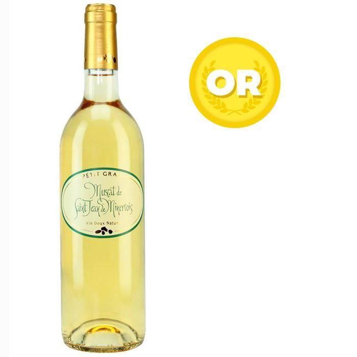 VIN BLANC Muscat de Saint Jean de Minervois Languedoc - Vin