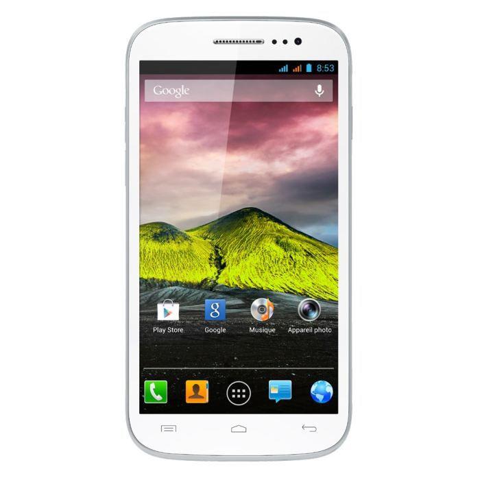 e7be6b07f795e WIKO CINK FIVE Blanc - Achat smartphone pas cher
