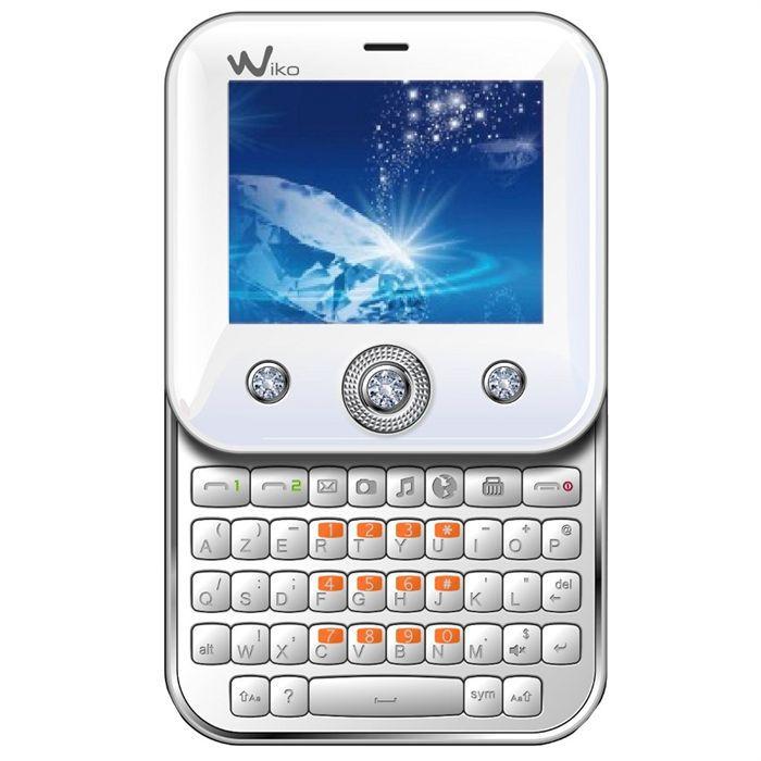 Téléphone portable WIKO DUELLE Blanc