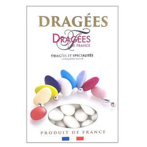 DRAGÉES DRAGEES DE FRANCE Dragées Marguerite - Blanc - 18%