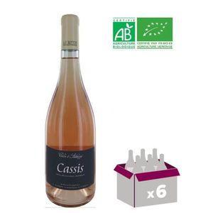 VIN ROSÉ Clos d'Albizzi AOP Cassis 2016 - Rosé BIO x 6