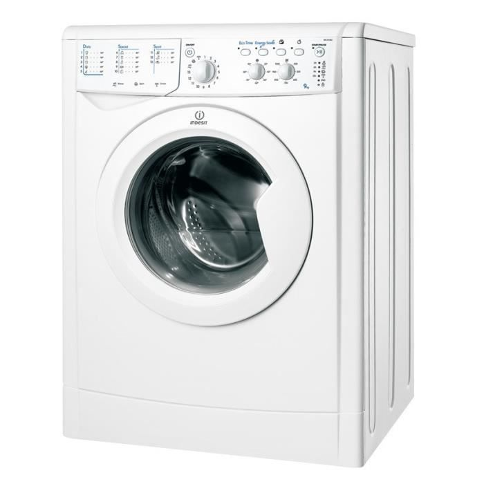 Indesit Iwc 91082 Eco Lave Linge Frontal 9 Kg 1000 Tours A