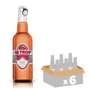 BIÈRE LA TROP Bière Rosée - 33 cl x6 - 4,4 %