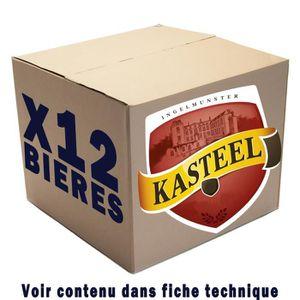 BIÈRE Box de 12 bières Kasteel 33cl