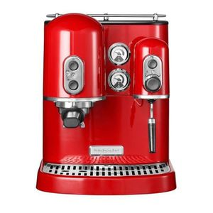 MACHINE À CAFÉ KITCHENAID - Machine à expresso Rouge 5KES2102EER