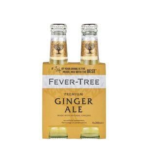 Apéritif sans alcool Fever-Tree Ginger Ale - Tonic Premium - Bouteille