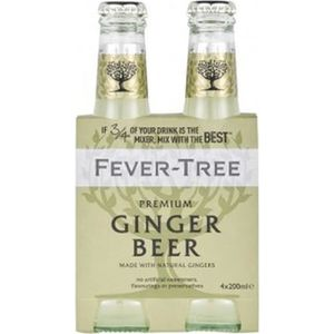 Apéritif sans alcool Fever-Tree Ginger Beer - Tonic Premium - Bouteille