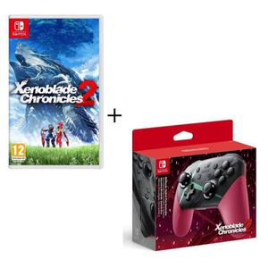 NINTENDO SWITCH Manette Nintendo Switch Pro - Édition Xenoblade Ch