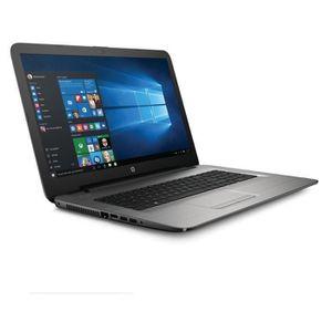 ORDINATEUR PORTABLE HP PC Portable 17-x024nf- Argent - 17,3