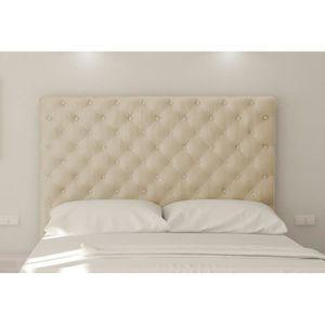tete de lit capitonnee 160 cm - achat / vente tete de lit