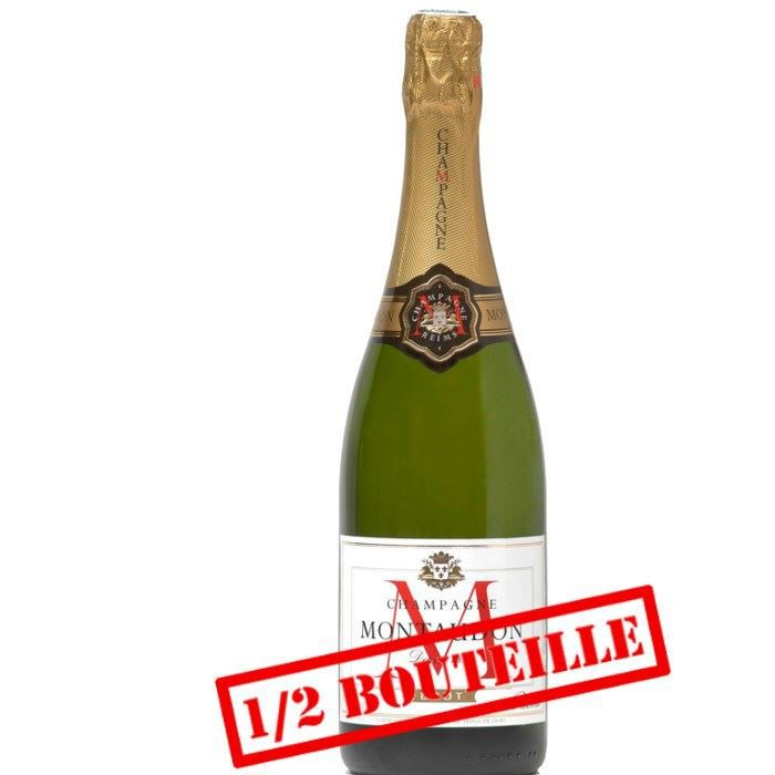 champagne 1/2 bouteille