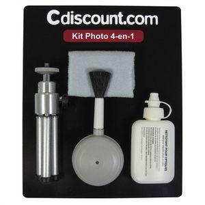 PACK ACCESSOIRES PHOTO Kit 4 en 1- Kit de nettoyage pour appareil photo