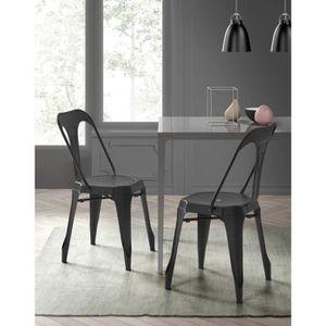chaise tolix achat vente chaise tolix pas cher. Black Bedroom Furniture Sets. Home Design Ideas
