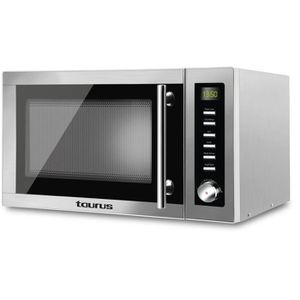 MICRO-ONDES TAURUS Laurent-Micro ondes grill silver-25 L-900 W