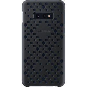 COQUE - BUMPER Samsung Coque perforée S10e - Noir & Vert