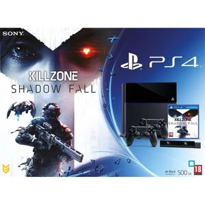 CONSOLE PS4 PS4 500 Go Noire + 2 DUAL+ CAMERA + KILLZONE