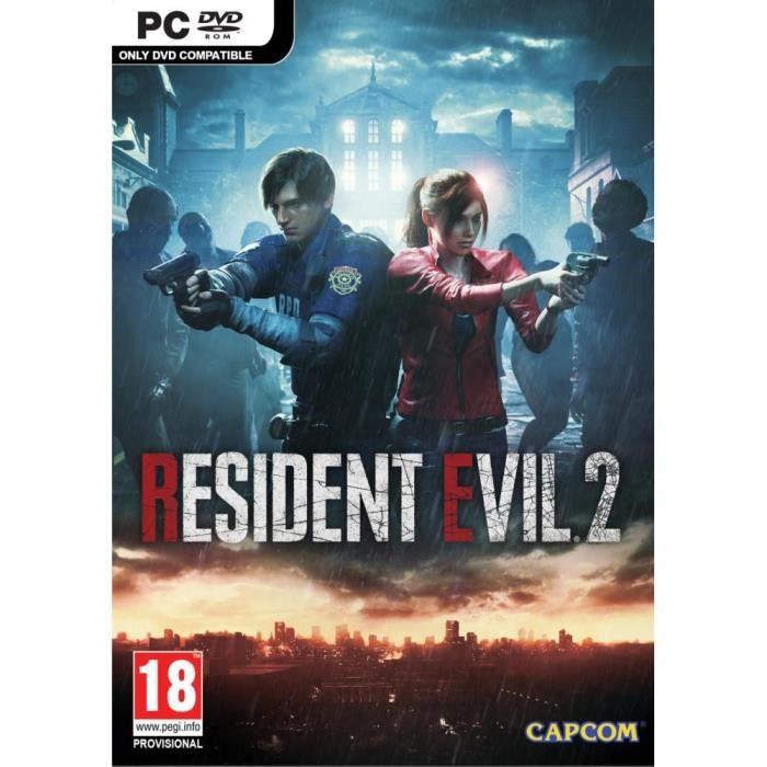 JEU PC NOUVEAUTÉ Resident Evil 2 Jeu PC