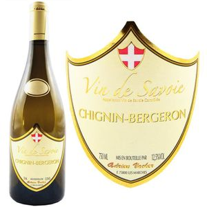 VIN BLANC Adrien Vacher Savoie AOC Chignin Bergeron 2016