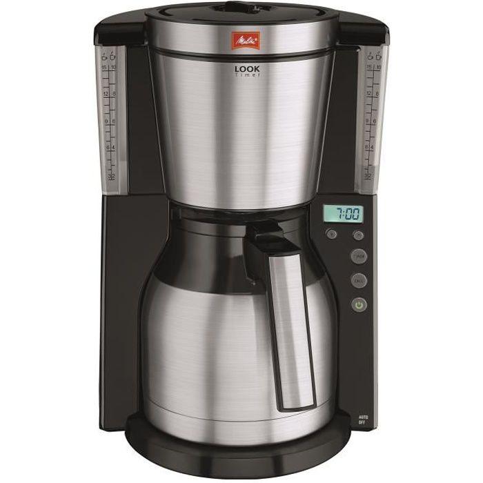 CAFETIÈRE MELITTA 1011-16 Cafetière filtre programmable avec