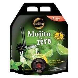 Apéritif sans alcool Planet - Cocktail - Mojito Zero - Sans alcool - Ba