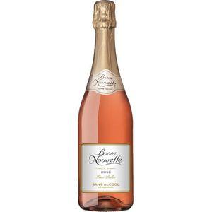 Apéritif à base de vin Bonne Nouvelle - Fines Bulles - Rosé - Boisson à B