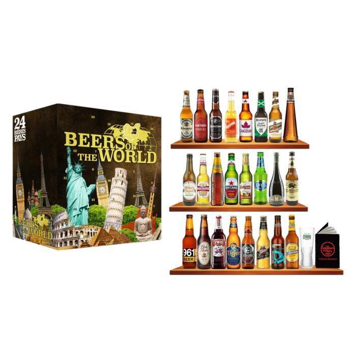 BIÈRE CALENDRIER DE L'AVENT Lot de 24 bouteilles Beers o