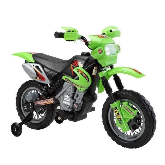 MOTO - SCOOTER E-ROAD Motocross électrique - Vert