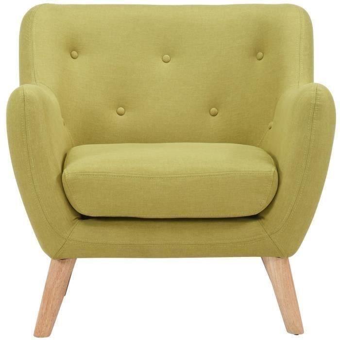 scandi fauteuil scandinave en tissu achat vente fauteuil structure bois massif rev tement. Black Bedroom Furniture Sets. Home Design Ideas