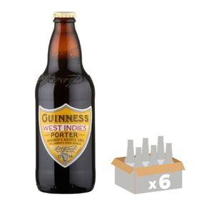 BIÈRE GUINNESS WEST INDIES PORTER Bière Brune 6 x 0,50 L