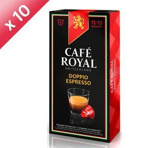 CAFÉ - CHICORÉE Lot de 100 capsules Café Royal Doppio Espresso Cap