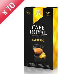 CAFÉ - CHICORÉE Lot de 100 capsules Café Royal Espresso Capsules C