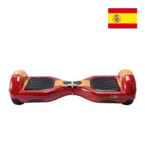 "HOVERBOARD TAAGWAY Hoverboard 6,5"" Espagne - Rouge et jaune"