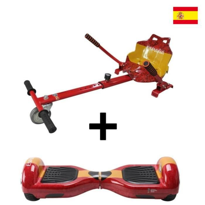 """HOVERBOARD TAAGWAY Hoverboard 6,5"""" + Kit Kart A4 Espagne - Ro"""