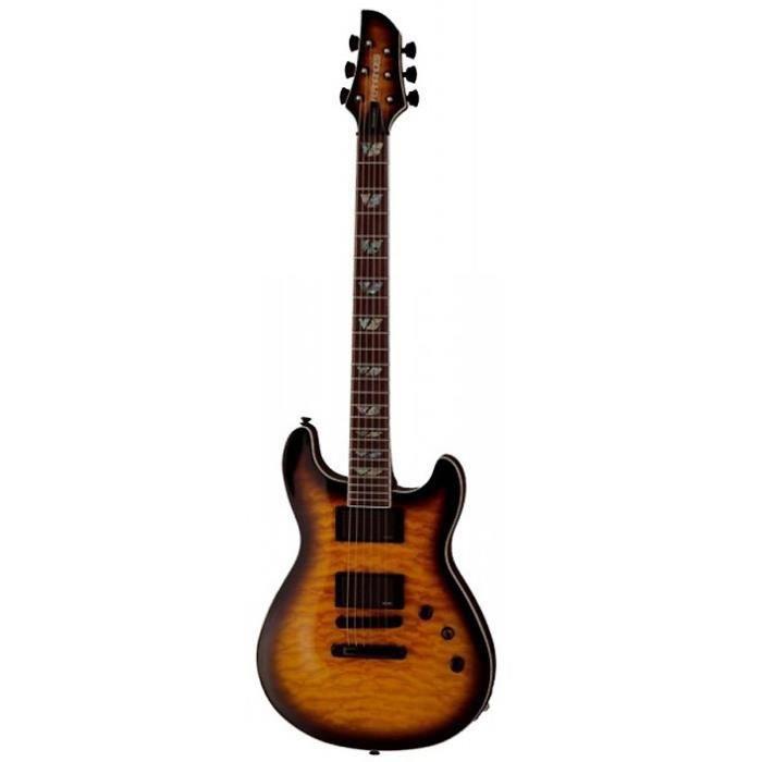 guitare electrique marron pas cher achat vente guitare electrique marron cdiscount. Black Bedroom Furniture Sets. Home Design Ideas