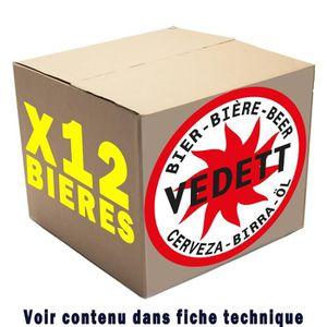 BIÈRE BOX de 12 bières Vedett 33cl