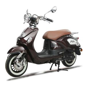 SCOOTER EUROCKA Scooter Fifty - 50cc - 4T - Marron