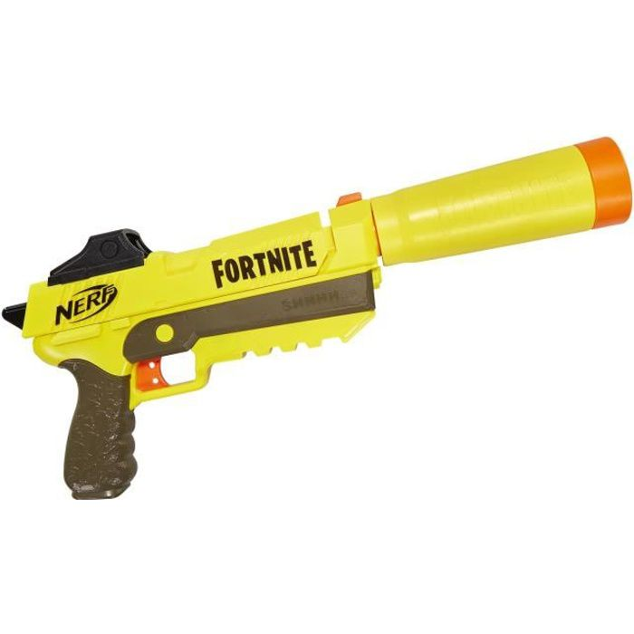 PISTOLET BILLE MOUSSE Pistolet fléchettes NERF Fortnite - SP L